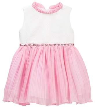 Dorissa Miranda Jacquard Bodice & Chiffon Bottom Dress (Toddler Girls)