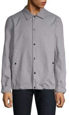 Rag & Bone Coaches Gingham Plaid Jacket