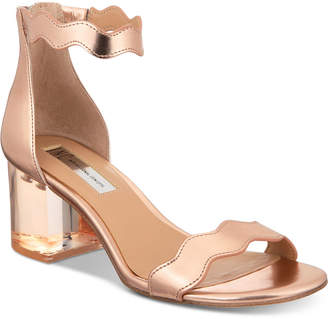 INC International Concepts I.N.C. Hadwin Scallop Two-Piece Sandals, Created for Macy's