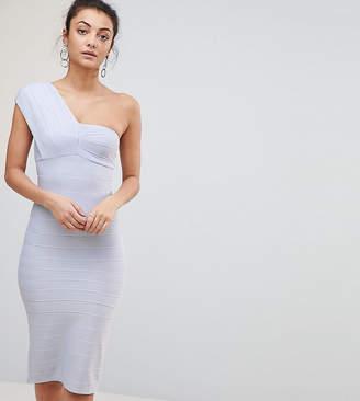 Asos Tall TALL One Shoulder Bandage Midi Bodycon Dress