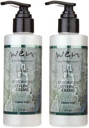 styling/ Wen WEN by Chaz Dean Light Styling Creme Duo