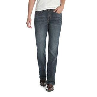 Wrangler Women's Aura Instantly Slimming Mid Rise Boot Cut Jean