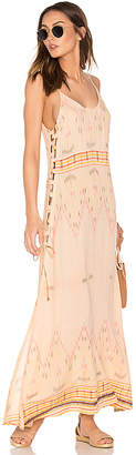 Cleobella Klemence Slip Dress in Peach $145 thestylecure.com