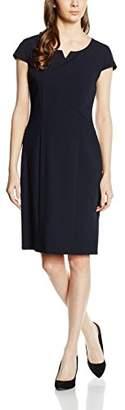 Betty Barclay Women's Smart Plain Short Sleeve Dress,8 (Manufacturer Size: 34)
