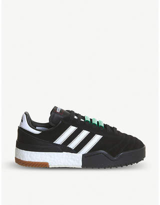 adidas Aw Bball Soccer suede trainers