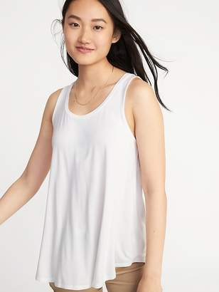 4d06c9aa1b7f4 Old Navy White Women s Tank Tops - ShopStyle