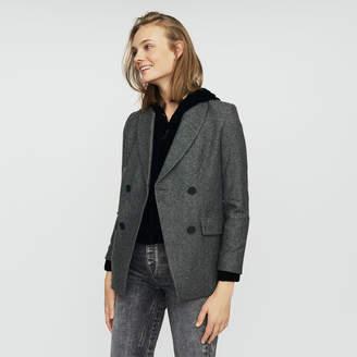 Maje Blazer in wool blend