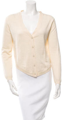 Vera Wang V-Neck Long Sleeve Cardigan $75 thestylecure.com