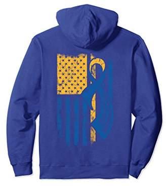 Down Syndrome Awareness/ Down Syndrome Awareness FLAG Hoodie