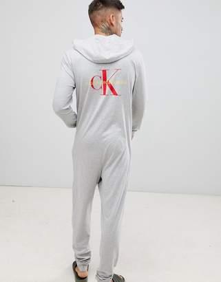 Calvin Klein Monogram onesie