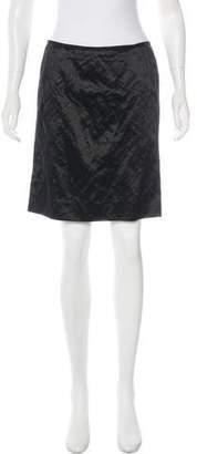 Lanvin Sateen Mini Skirt