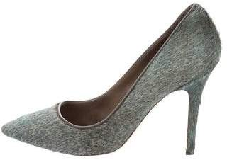 Isabel Marant Ponyhair Pointed-Toe Pumps