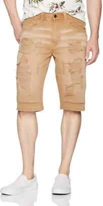 Akademiks Men's Newhawk Rip and Tear Shorts