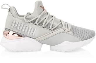 Puma Women's Muse Maia Metallic Sneakers