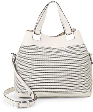 Vince Camuto Women's Mini Cut-Out Leather Satchel