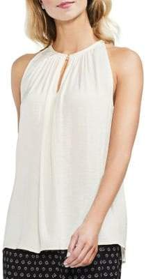 Vince Camuto Topic Heat Rumpled Keyhole Blouse