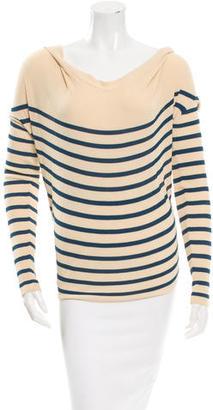 Jean Paul Gaultier Striped Top $65 thestylecure.com