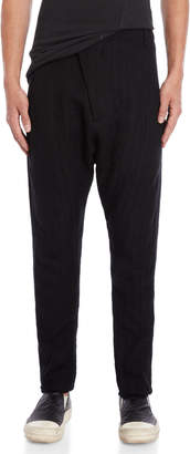 Masnada Drop Crotch Slim Tapered Pants