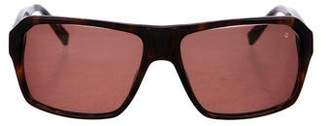 John Varvatos Tortoiseshell Tinted Sunglasses