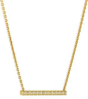 Chopard Collier Ice Cube Diamond& 18K Yellow Gold Necklace