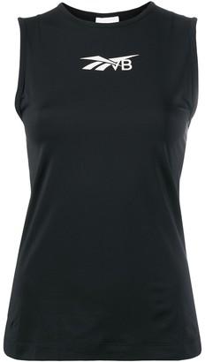Reebok x Victoria Beckham printed jersey tank top