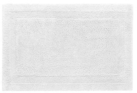 AbyssAbyss Super Pile small reversible bath mat - White