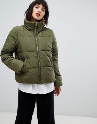 Pieces Padded Coat