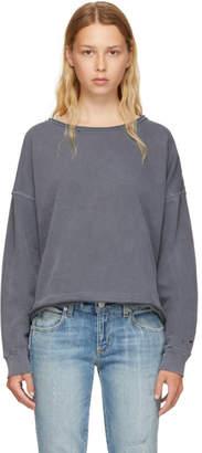 Amo Grey Boxy Sweatshirt
