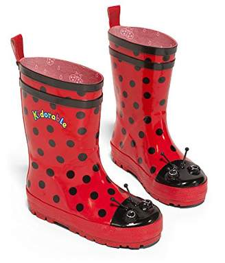 Kidorable Ladybug Rain Boot (Toddler/Little Kid)