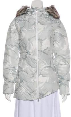 The North Face Faux Fur-Trimmed Puffer Coat