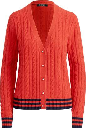 Ralph Lauren Cable-Knit Cardigan