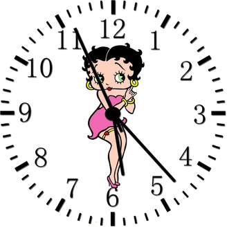 "Betty Boop Rusch Inc. Wall Clock 10"" Will Be Nice Gift and Room Wall Decor Z61"