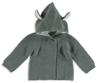 Stella McCartney Unisex Ear Detail Hooded Cardigan - Baby