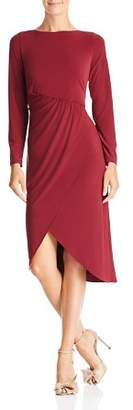 Adrianna Papell Draped Jersey Dress