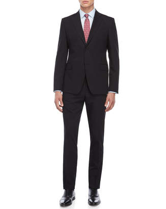 Roberto Cavalli Black Wool Suit