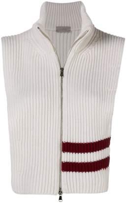 MRZ sleeveless zipped vest