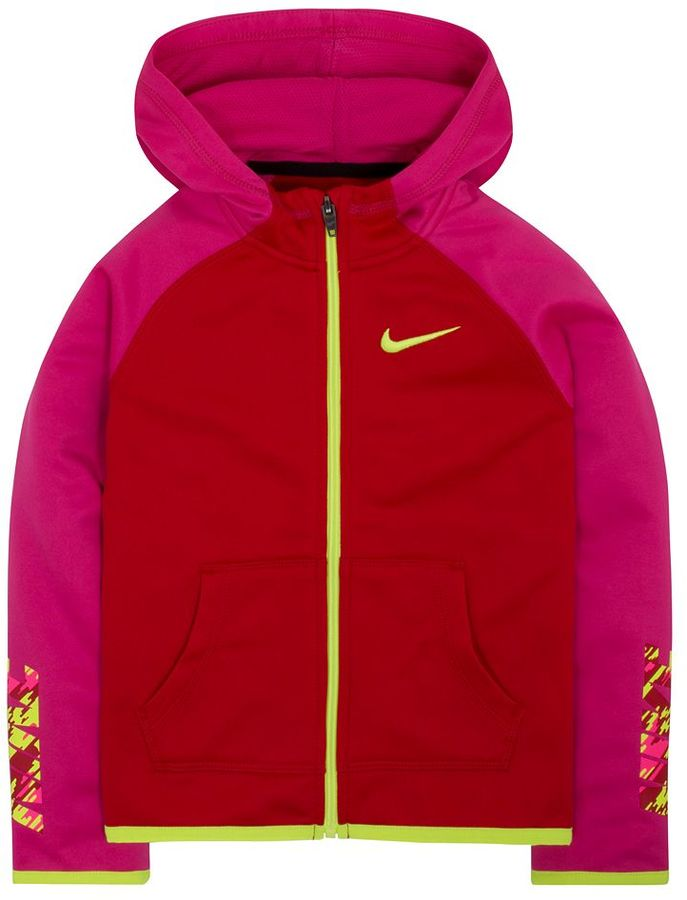 Toddler Girl Nike Therma-FIT Fleece Front Zip Hoodie