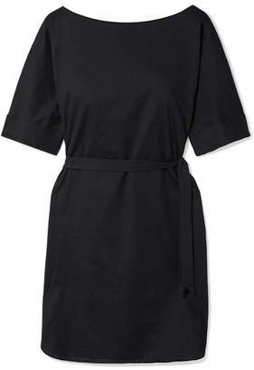 Eres Cesar Cotton-jersey Mini Dress - Black