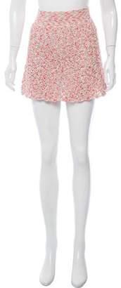 Spencer Vladimir Crochet Mini Skirt