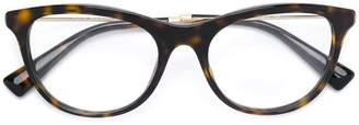 Valentino Eyewear tortoiseshell effect glasses