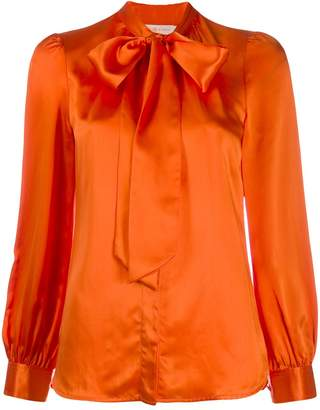 Tory Burch long-sleeved bow blouse