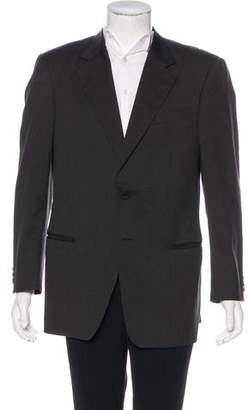 Armani Collezioni Wool Two-Button Blazer