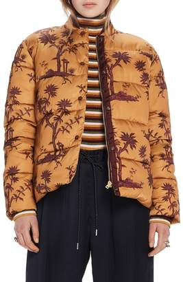 Scotch & Soda Print Insulated Jacket