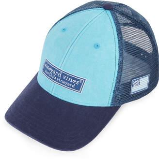 00da0eaf Vineyard Vines Low Profile Tonal Classic Logo Trucker Hat