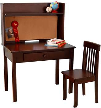 Kid Kraft Espresso Pinboard Desk & Chair