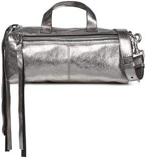 McQ Metallic Leather Shoulder Bag
