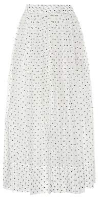 Alexandre Vauthier Polka-dot cotton skirt