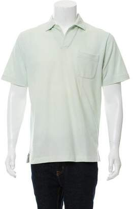 Loro Piana Knit Polo Shirt