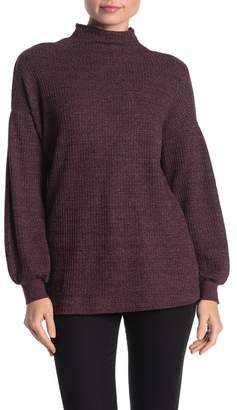 Magaschoni M BY Long Sleeve Funnel Neck Sweater