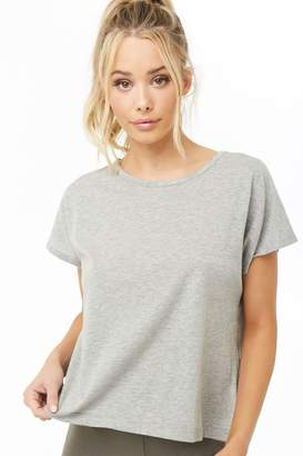 Forever 21 Active Twisted Hem Tee